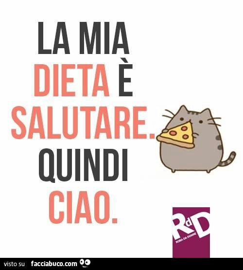 la mia dieta