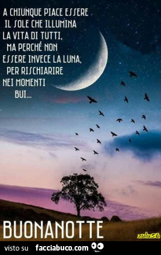 Buonanotte Facciabuco Vaccata Pubblicata Da Zulu56 Facciabucocom